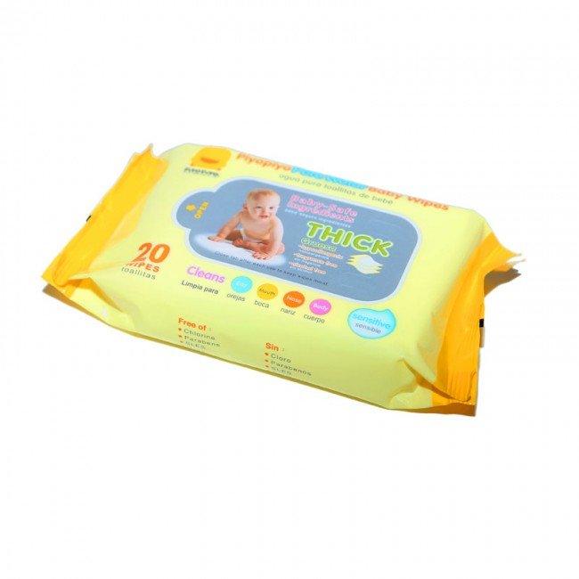 Piyo Piyo Quot Pure Water Quot Baby Wipes Travel Pack